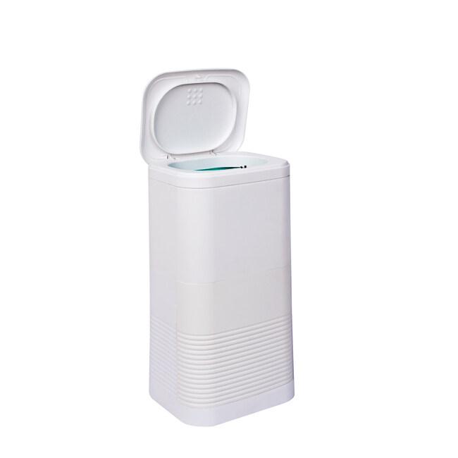 16L Plastic Female sanitary disposable napkin bins with endless bag