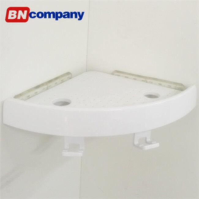 Corner Suction Shelf Shower Basket Caddy Rack Storage Bath Soap Holder Angle of Bathroom Shelf Plastic