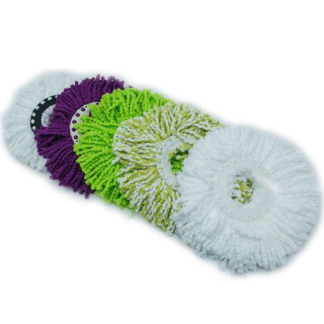 Best Selling Eco-friendly Microfiber Spin Magic Mop Head Refill