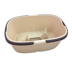 Bainin floor cleaner spin wash plastic folding plate corners  cleaning mop bucket