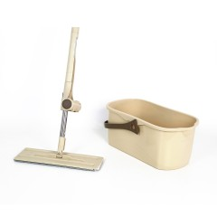Best Cost-effective Squeeze System Self-wash Flat Mop with Bucket cleaner