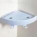 Attachable Suction ABS Material Magic Plastic Bathroom Corner Shelf