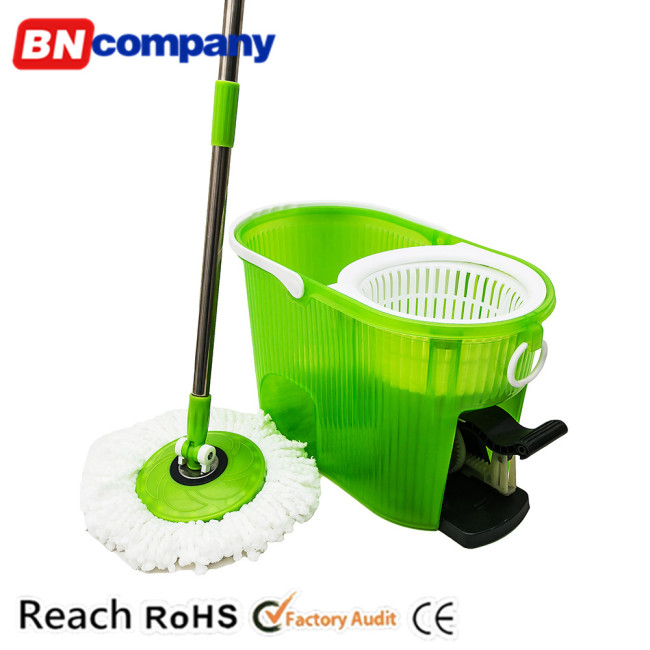 Popular 360 Degree Magic Clean Mop Plastic Floor Cleaning Wiper