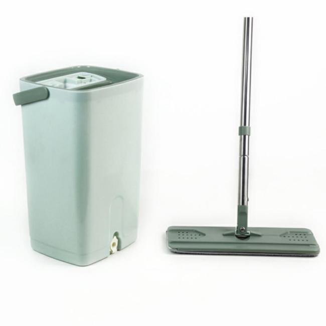 China Microfiber Mop Suppliers and Manufacturers for Magic Flat Mop Bucket