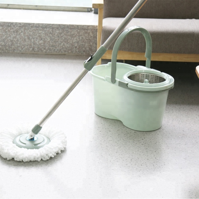 Steel Pole Material and Cleaning Handle Type 360 Magic Mop