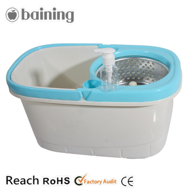 Wet Mops Perfect Clean QQ 360 Rotating Magic Mop with Bucket