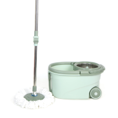 Floor Cleaning Magic 360 Spinning Mop with Bucket