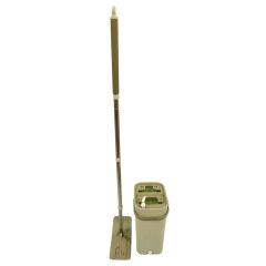 BN1906 Self-dry Microfiber Flat Mop Durable Green Bucket Household Cleaning