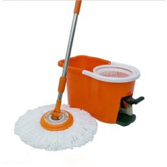 360 Magic Foot Pedal Mop Bucket Spin Dual-Action Floor Mop Cleaning