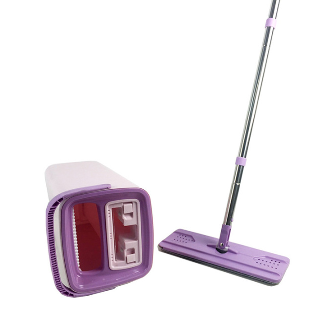 Hand Free Magic Flat mop Cleaning Mob for Wooden Floor