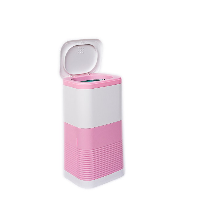 Small female plastic ladi sanitary bin