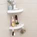 Bathroom Shower Caddy with Magic Plastic Shower Shelf Holder