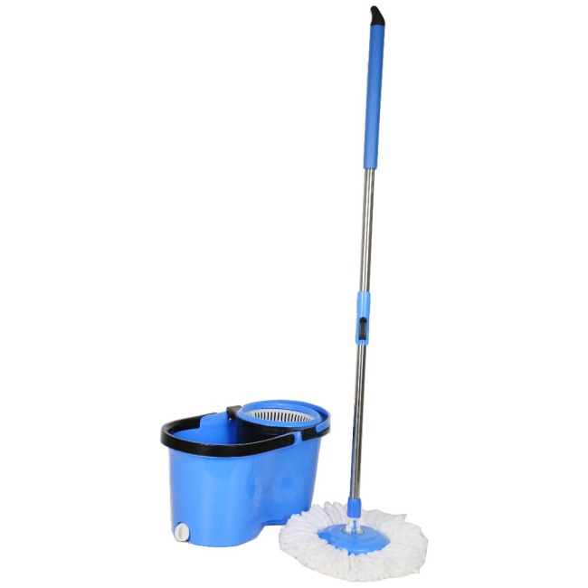 Magic Bucket Removable Wringer Basket 360 Spin Cleaning Mop Bucket