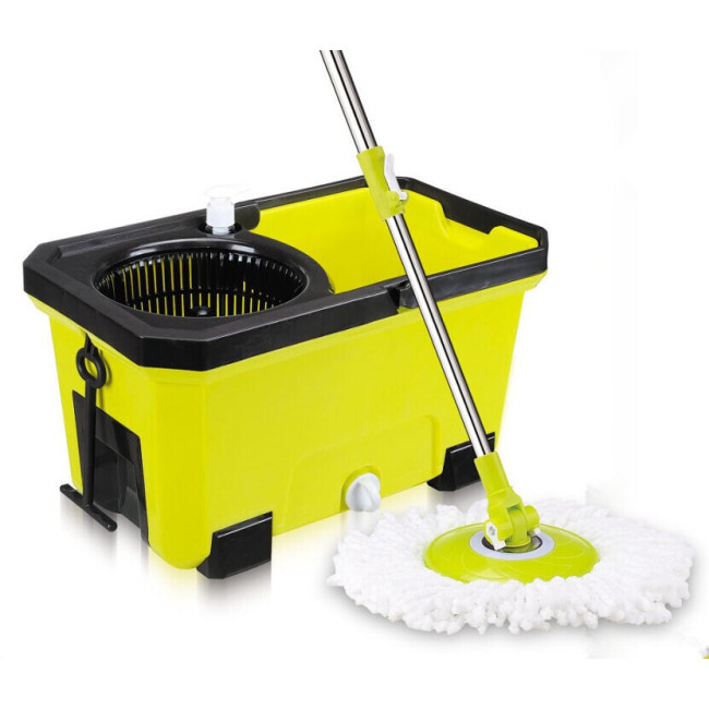 BN company hot selling magic 360 spin floor cleaner mop with bucket