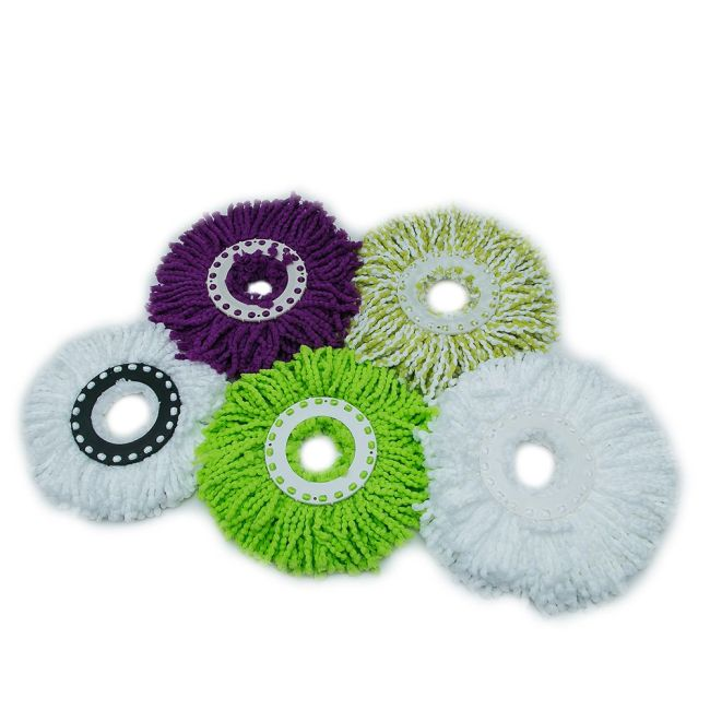 100 percent microfiber spin mop magic mop easy mop head