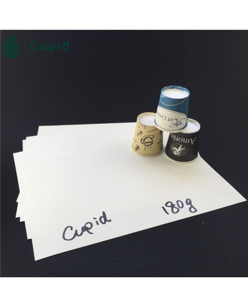 180gsm PE coated paper cup paper in sheet