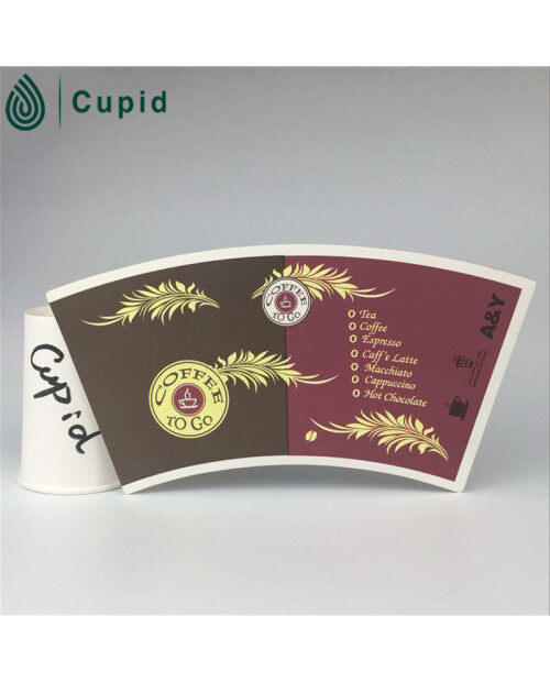 Single Side Hot Drink Coffee Cup Paper