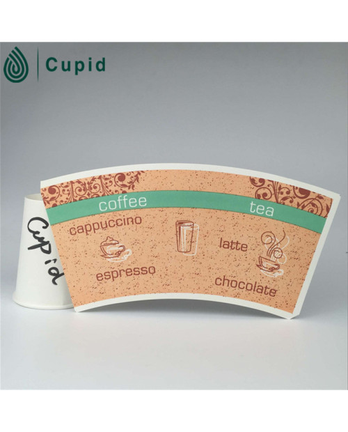 Reasonable Price High Quality coloured paper cups Fan