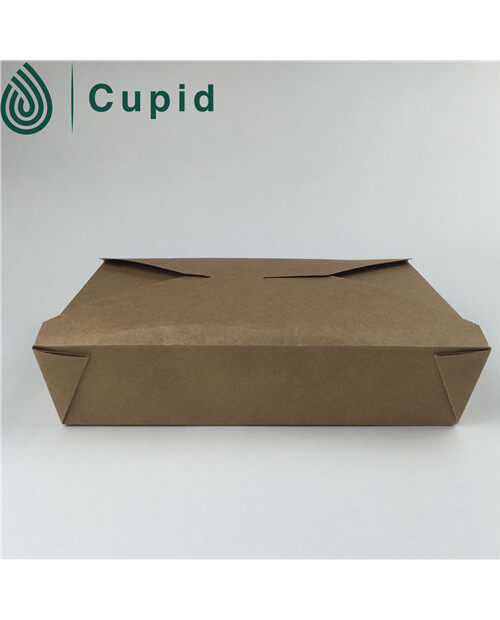 high quality kraft paper lunch packing food box