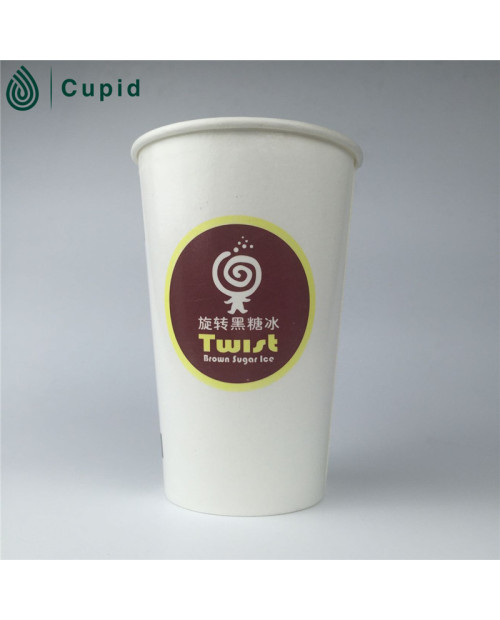 One side pe coated paper cup for food packing