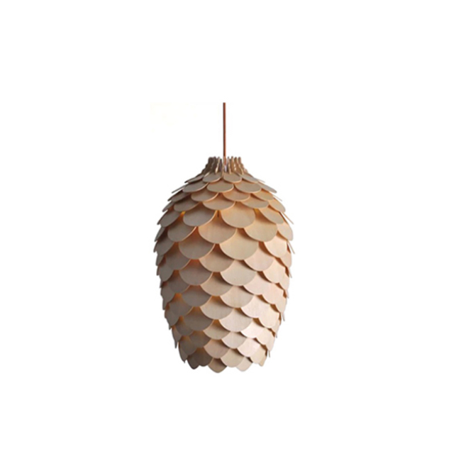 Big deal apple wood pendant lamp