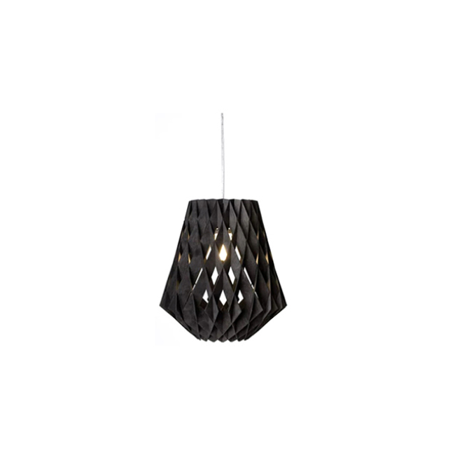 Cage decorative wood pendant lamps