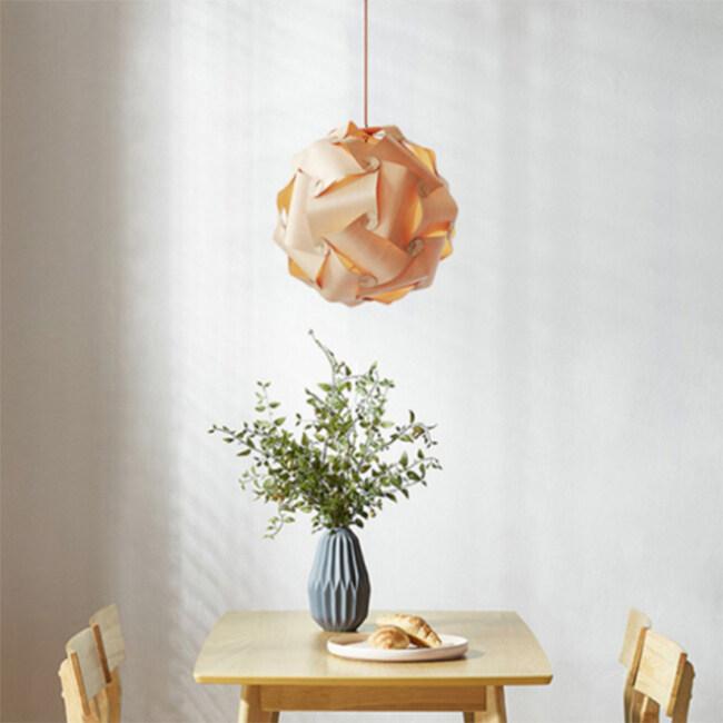 Decorative wooden lighting