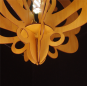 Butterfly wood pendant lamp
