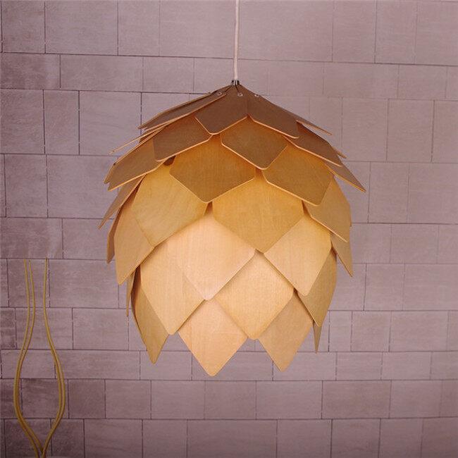 Deal Apple wood decorative light