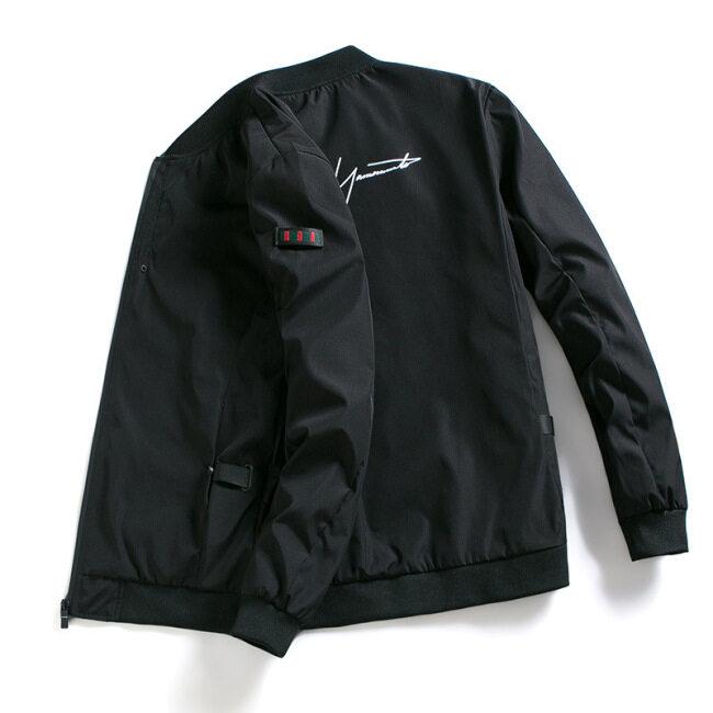 Coat men's 2019 new autumn clothes Korean Trend summer cool casual work clothes spring autumn men's jacket