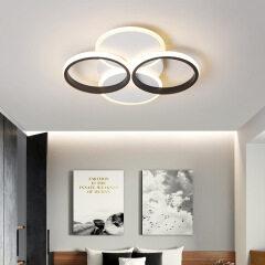 New bedroom lamp LED creative fashion room ceiling lamp fancy restaurant study bedroom art lamp manufacturer
