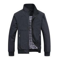 Wholesale 2019 new men's jacket spring cross border casual men's Korean version handsome pilot zipper coat