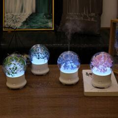 Yongshenghua creative air purification humidifier cross border home ultrasonic seven color light bouquet aromatherapy machine customization